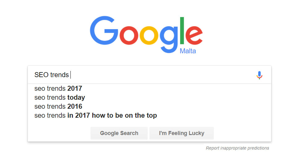 SEO trends and tactics for 2017 and beyond