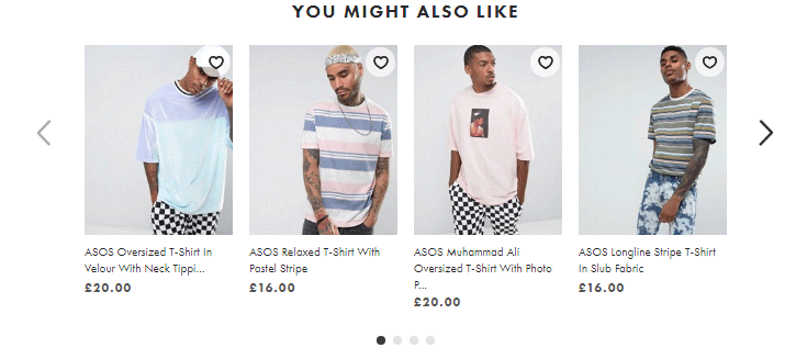 ASOS you might also like