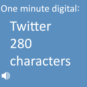 Twitter 280 characters experiment